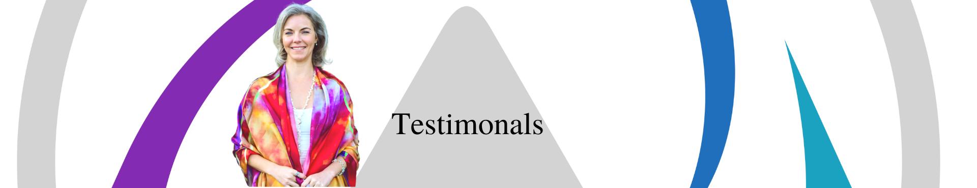 Testimonials Page, Header Image